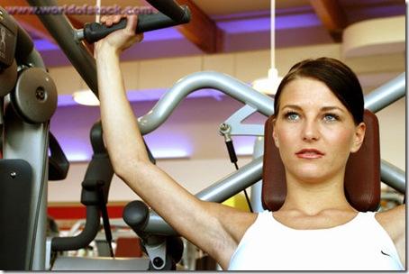 fille gym