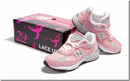NEW BALANCE PINK SHOES