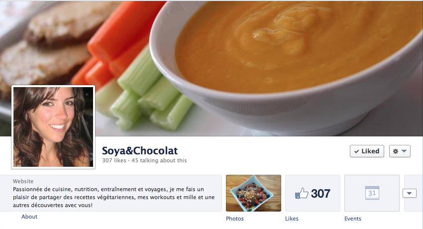 facebook soyaetchocolat