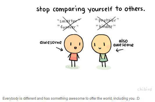 stopcomparingyourself