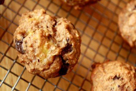 muffins banane chocolat5