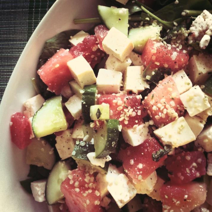 salade melon feta