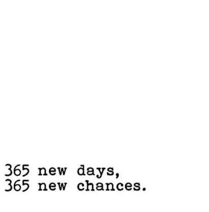 new chances