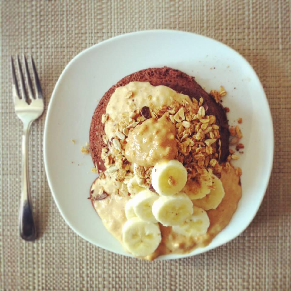 granola au beurre d'arachides et au chocolat