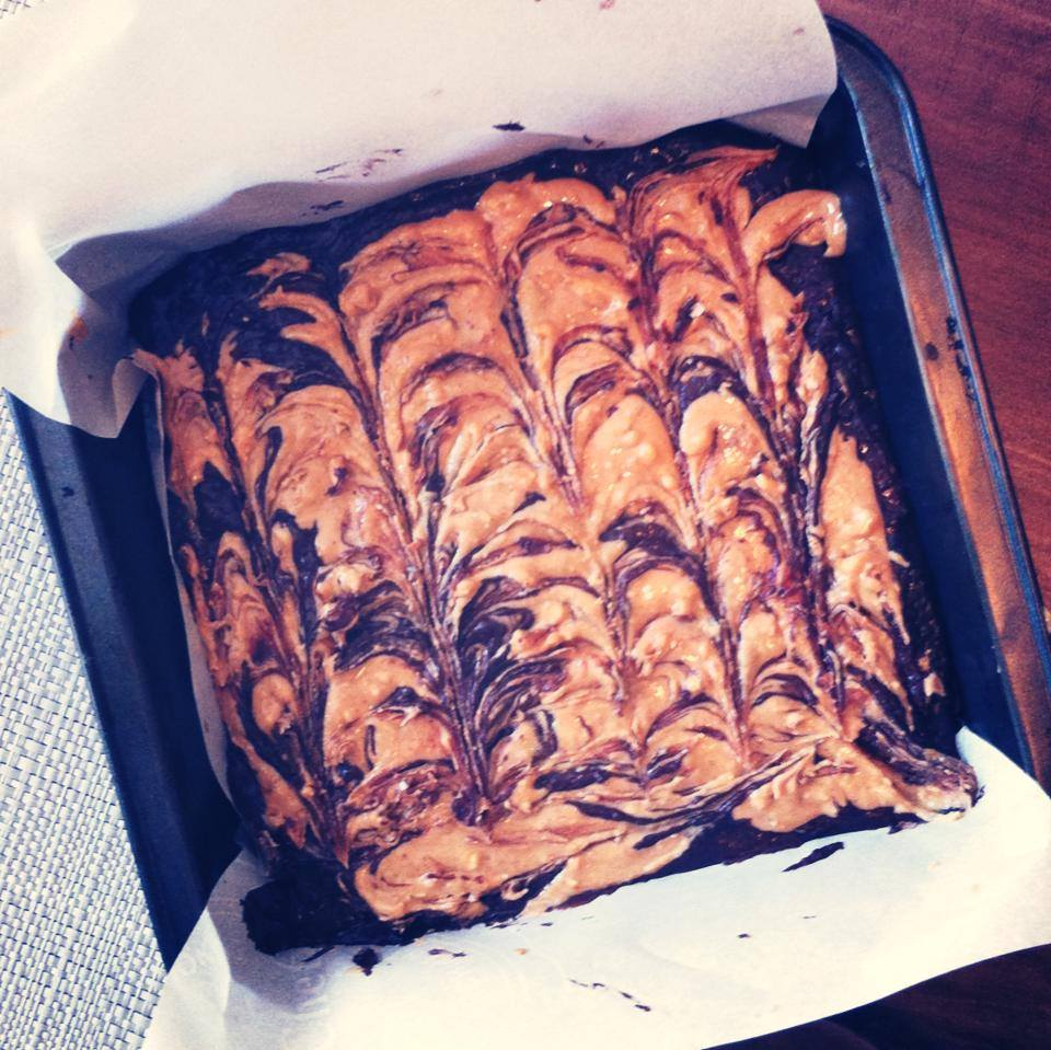brownies au beurre d'arachides