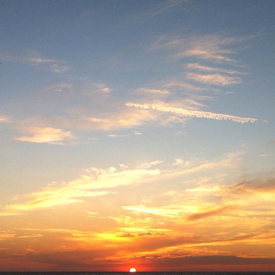 coucher de soleil merida