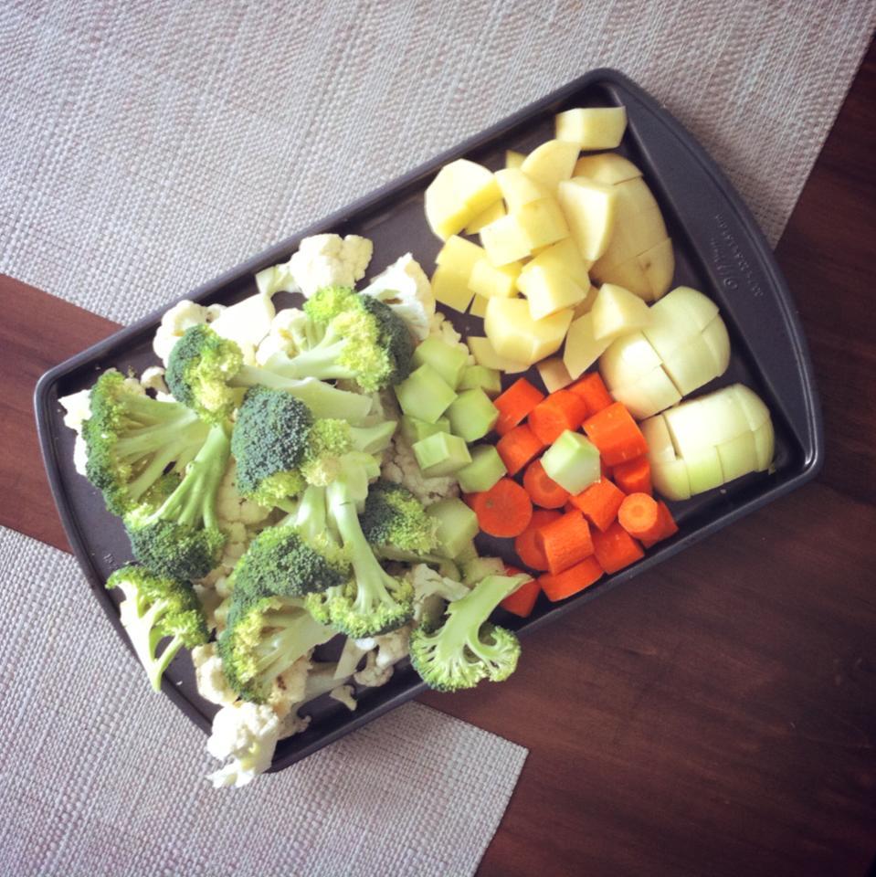 ingrédients potage