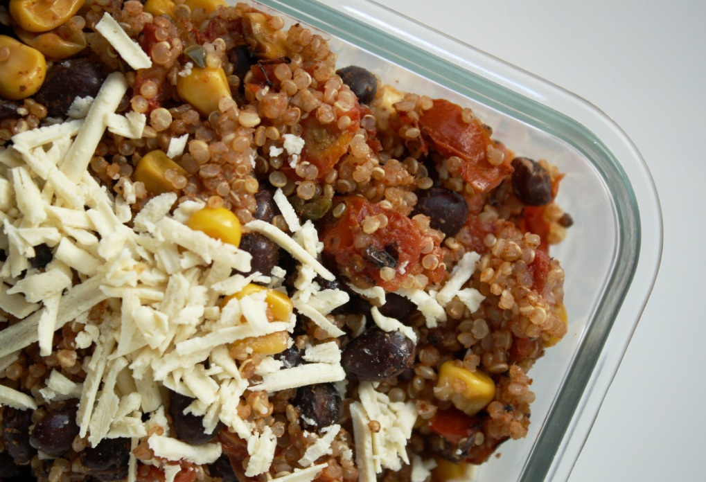 quinoa a la mexicaine