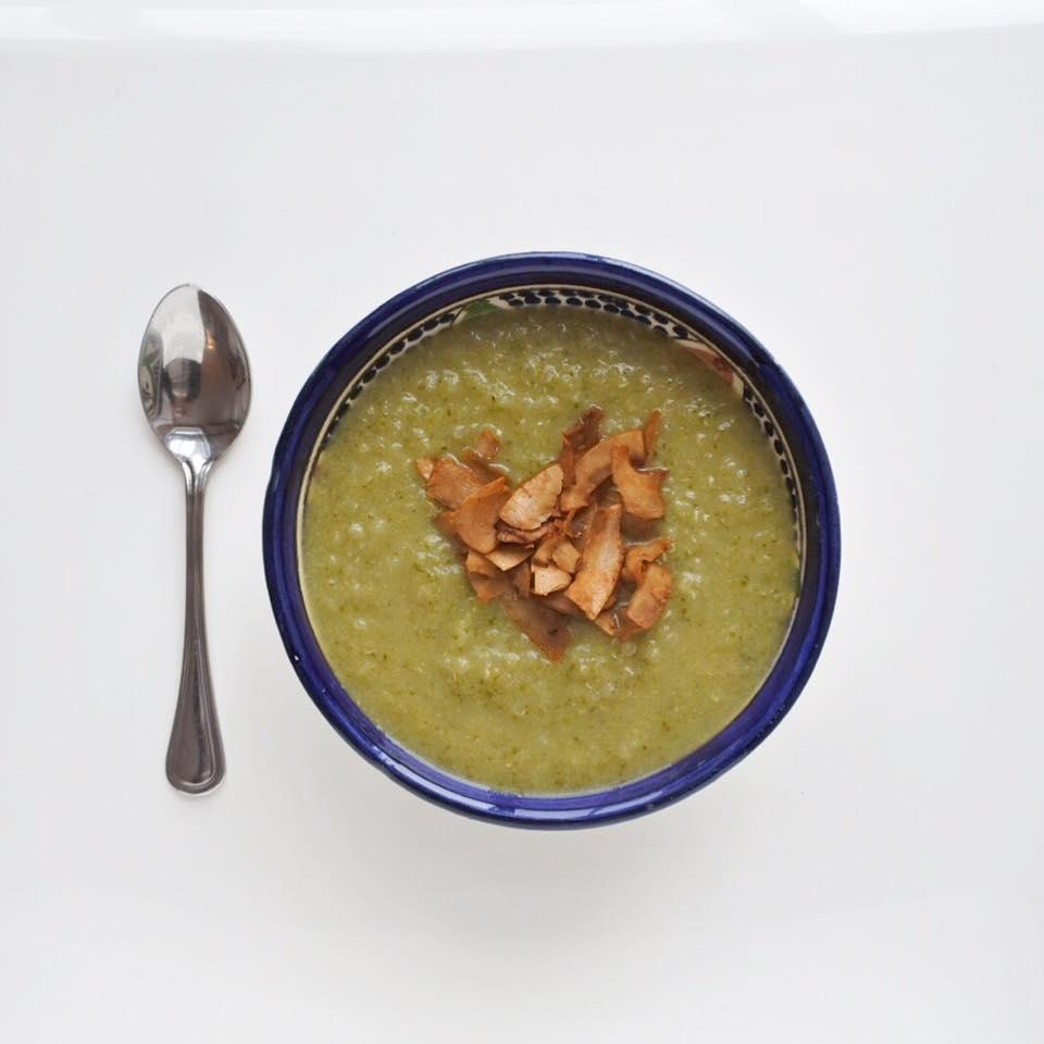crème de brocoli et quinoa
