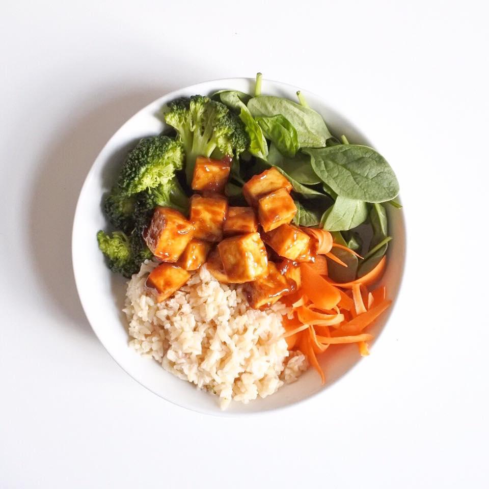 tofu arachides
