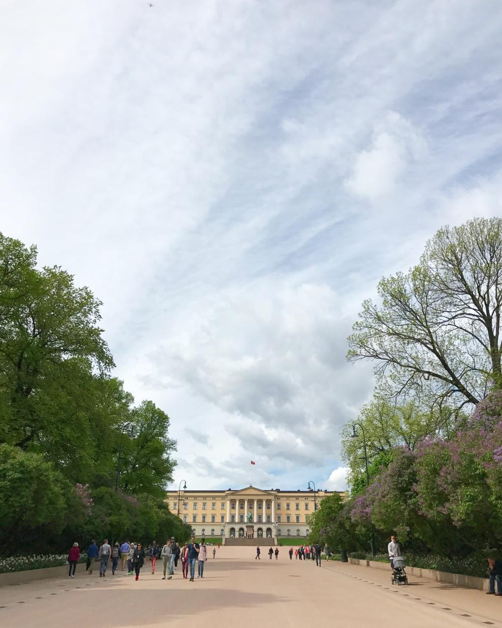 Palais royal Oslo