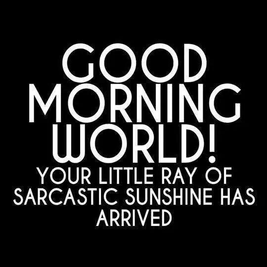 sarcastic sunshine