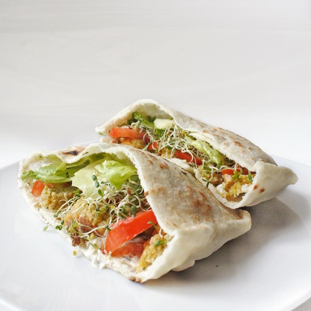 pita falafels