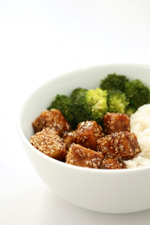 tofu sesame cote