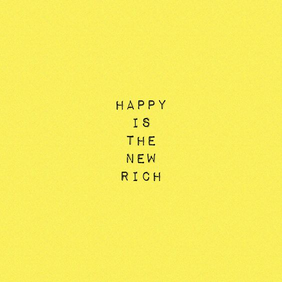 happy rich