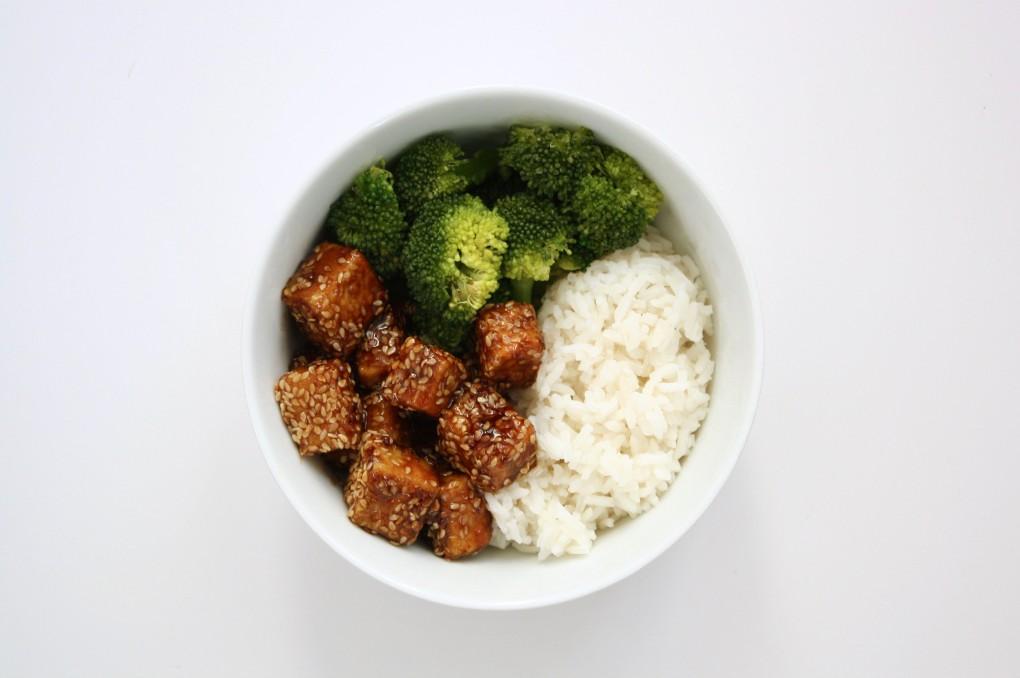 tofu sesame haut